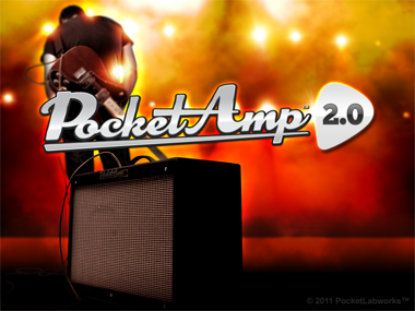 PocketAmp 2.0 Guitar Amp App free HD wallpaper lock screen ipad