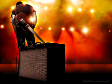 PocketAmp 2.0 Guitar Amp App free HD wallpaper home screen ipad
